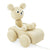 Wooden Pull Along Bear In Car - Teddy