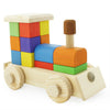 Building Block Toy Train