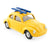 Tin Toy VW Beetle With Skis - Cruz
