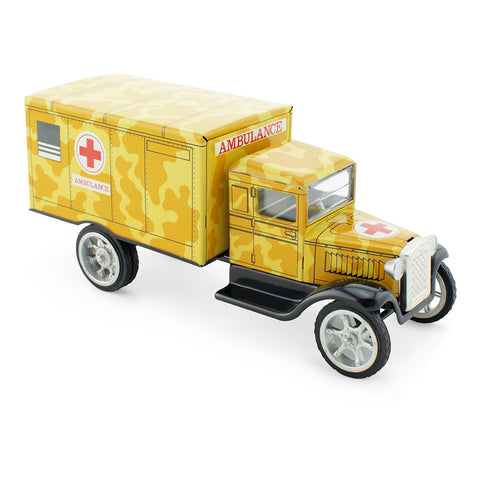 Tin Toy Army Ambulance - Happy Go Ducky