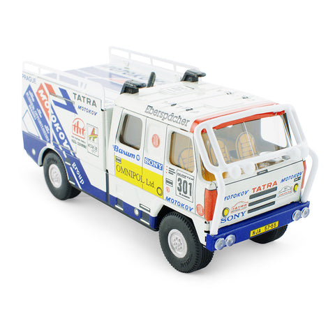 Tin Toy Rally Truck - Happy Go Ducky Toys