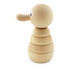 wooden stacking duck puzzle toy