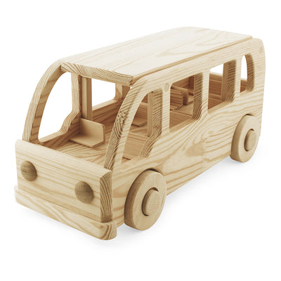 large wooden toy school bus!