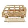 large wooden toy school bus