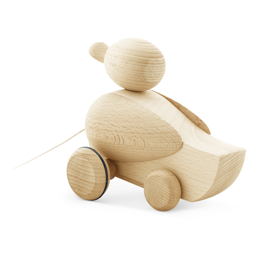 Wooden Pull Along Toy Duck | Toys For Toddlers | Wooden Toys Online ...