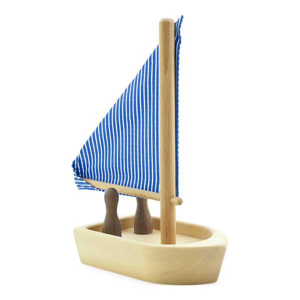 Toy Wooden Boat With Passengers Children's Toy