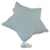 Muslin Star Pillow Large - Dirty Mint