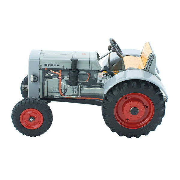 Wind Up Tin Toy Tractor - Levi