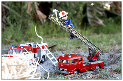 Mercedes Benz 335 Fire Engine Toy