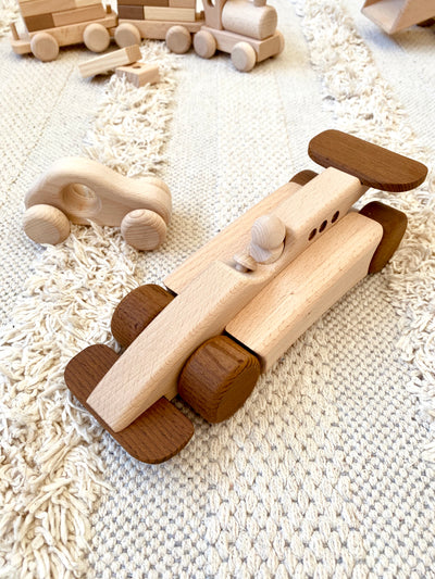 Wooden Formula 1 Car - Carmen