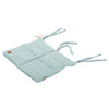 Muslin Cot Organiser - Dirty Mint