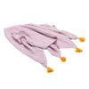 Muslin Baby Swaddle - Dusty Pink