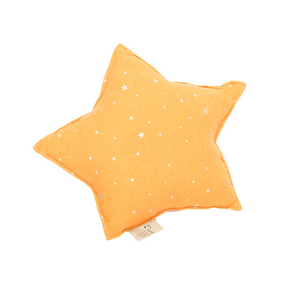Muslin Star Pillow Small - Honey