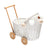 Wicker Dolls Pram - White (Arriving November)
