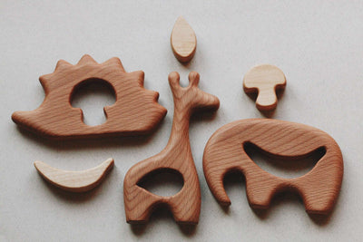Wooden Mini Hedgehog Puzzle - Holly (Arriving June)