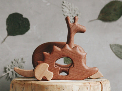 Wooden Mini Hedgehog Puzzle - Holly