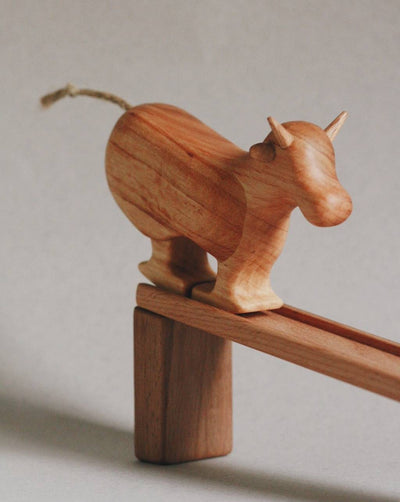Wooden Ramp Walking Cow - Willa (Arriving July)