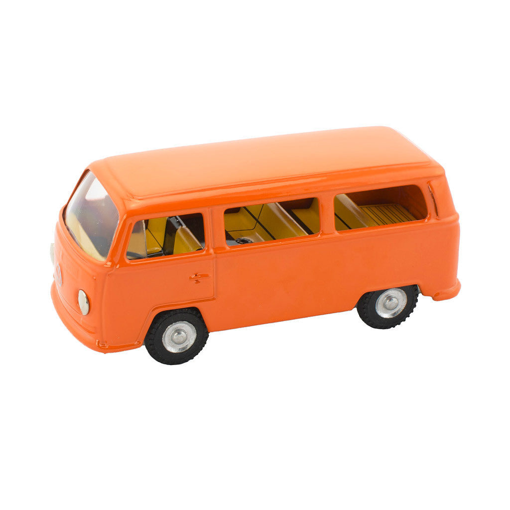 Orange Kombi Van Toy - Happy Go Ducky
