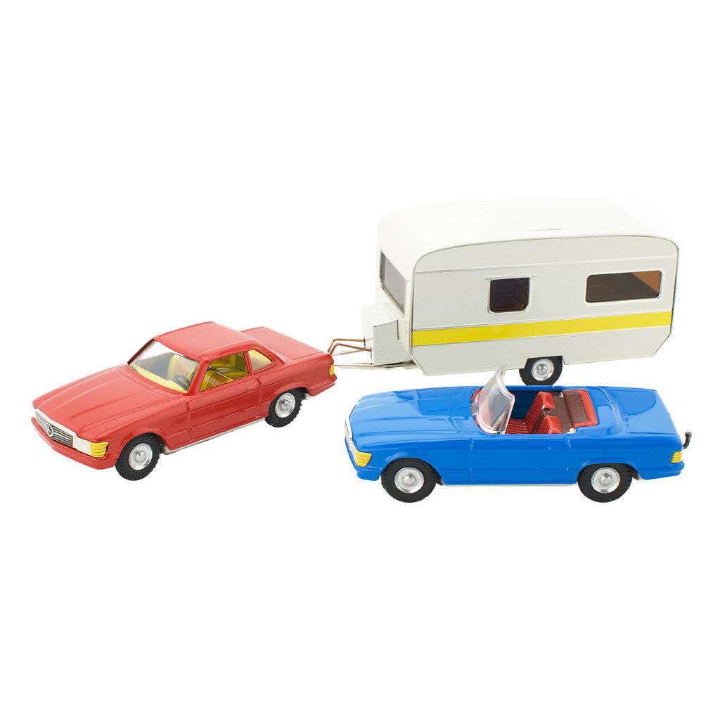 Tin Toy Car Gift Set - Happy Go Ducky