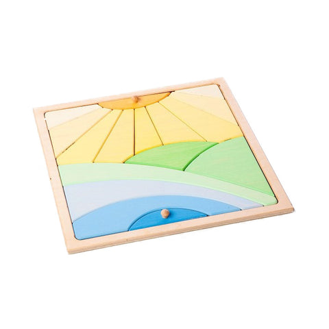 Colourful Sun Puzzle | Happy Go Ducky