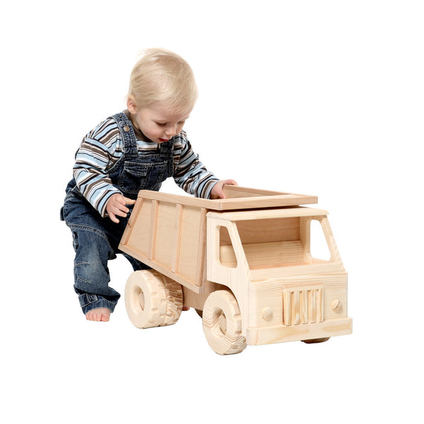 Wooden Toy Dump Truck Boys Toys Cars Amp Trucks Happy