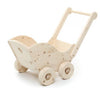 wooden push cart