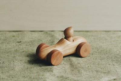 Handmade Wooden Toy Car With Driver