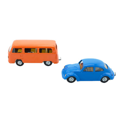 VW Beetle & Kombi Van Toys - Happy Go Ducky