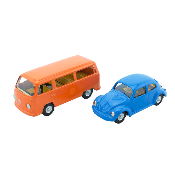 Wind Up Tin Toy Car Set - Happy Go Ducky