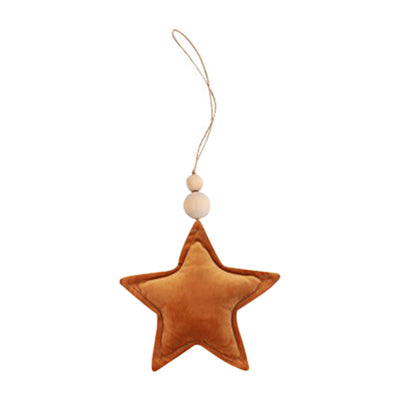 Velvet Star Pendant - Rust (Arriving November)