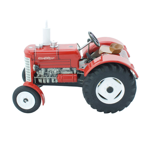 Wind Up Tin Toy Zetor Tractor - Mara