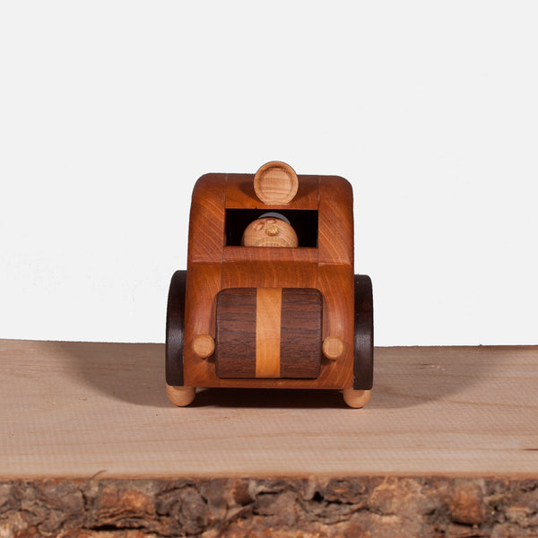 Wooden Toy Ambulance - Mable (Arriving November)