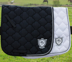 Rambo Diamante Jumping Saddle Pad