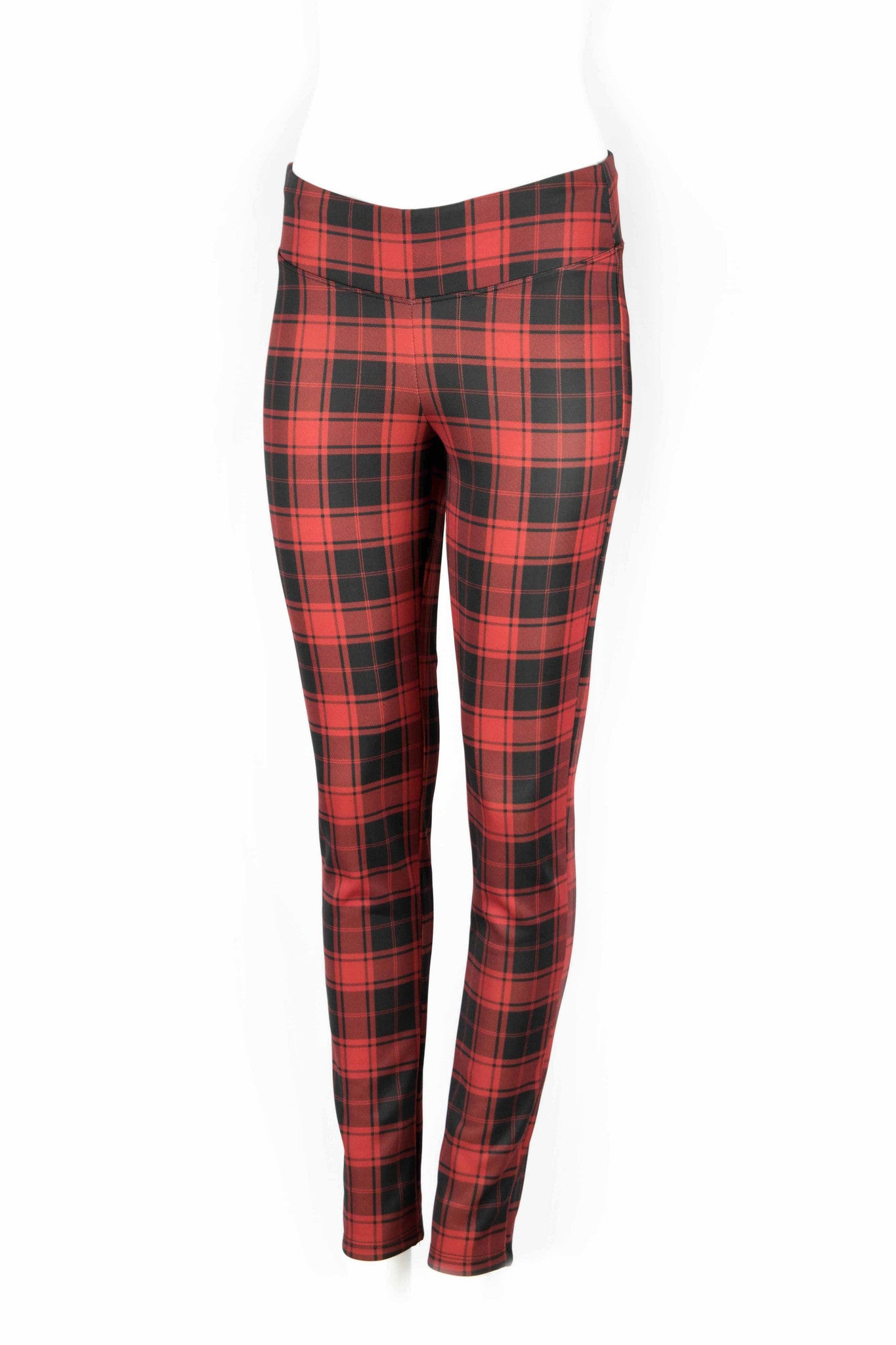 Aubrey Plaid Fitted Pants - ANA MARIA KIM  - 3