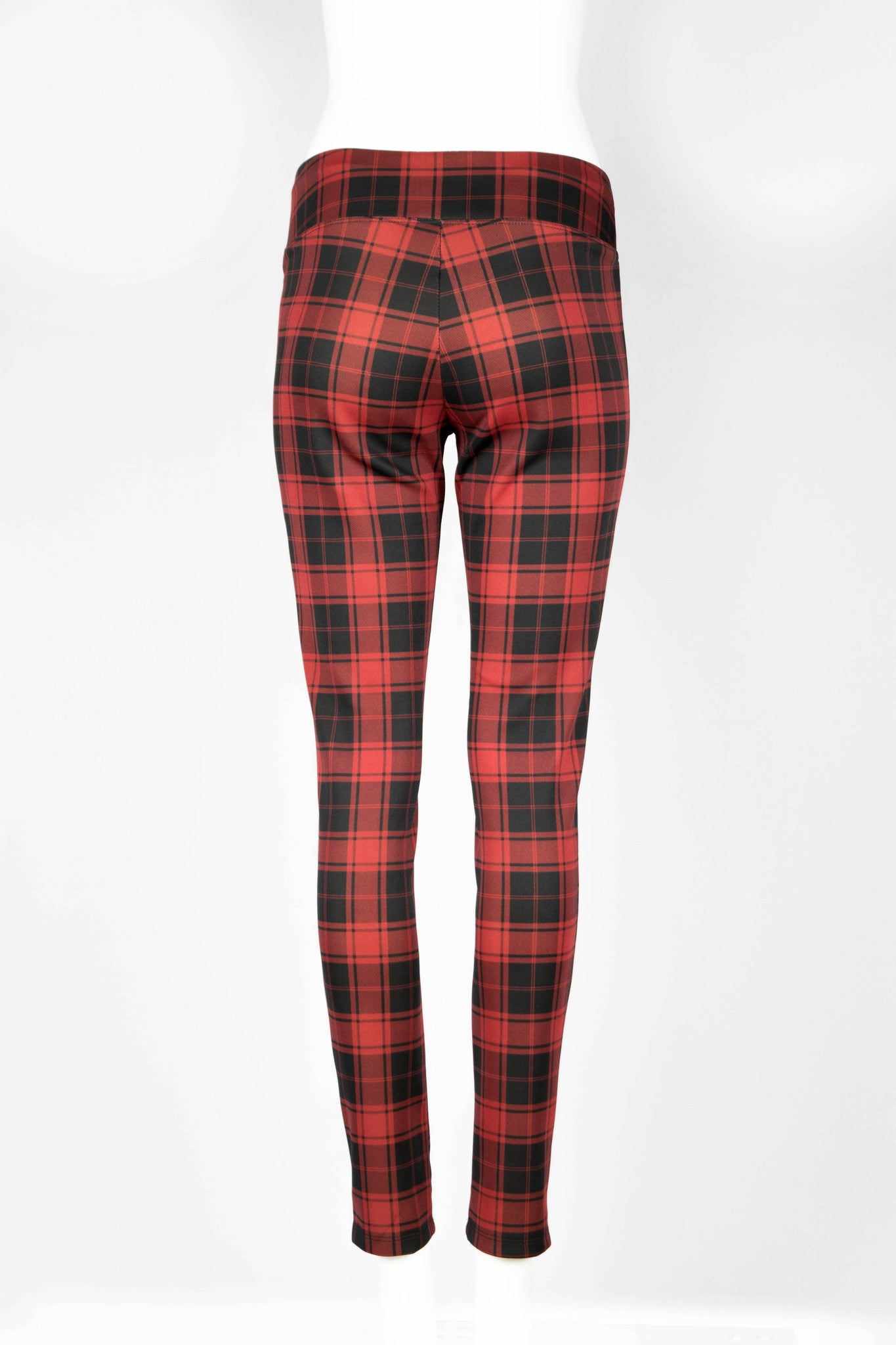 Aubrey Plaid Fitted Pants - ANA MARIA KIM  - 8