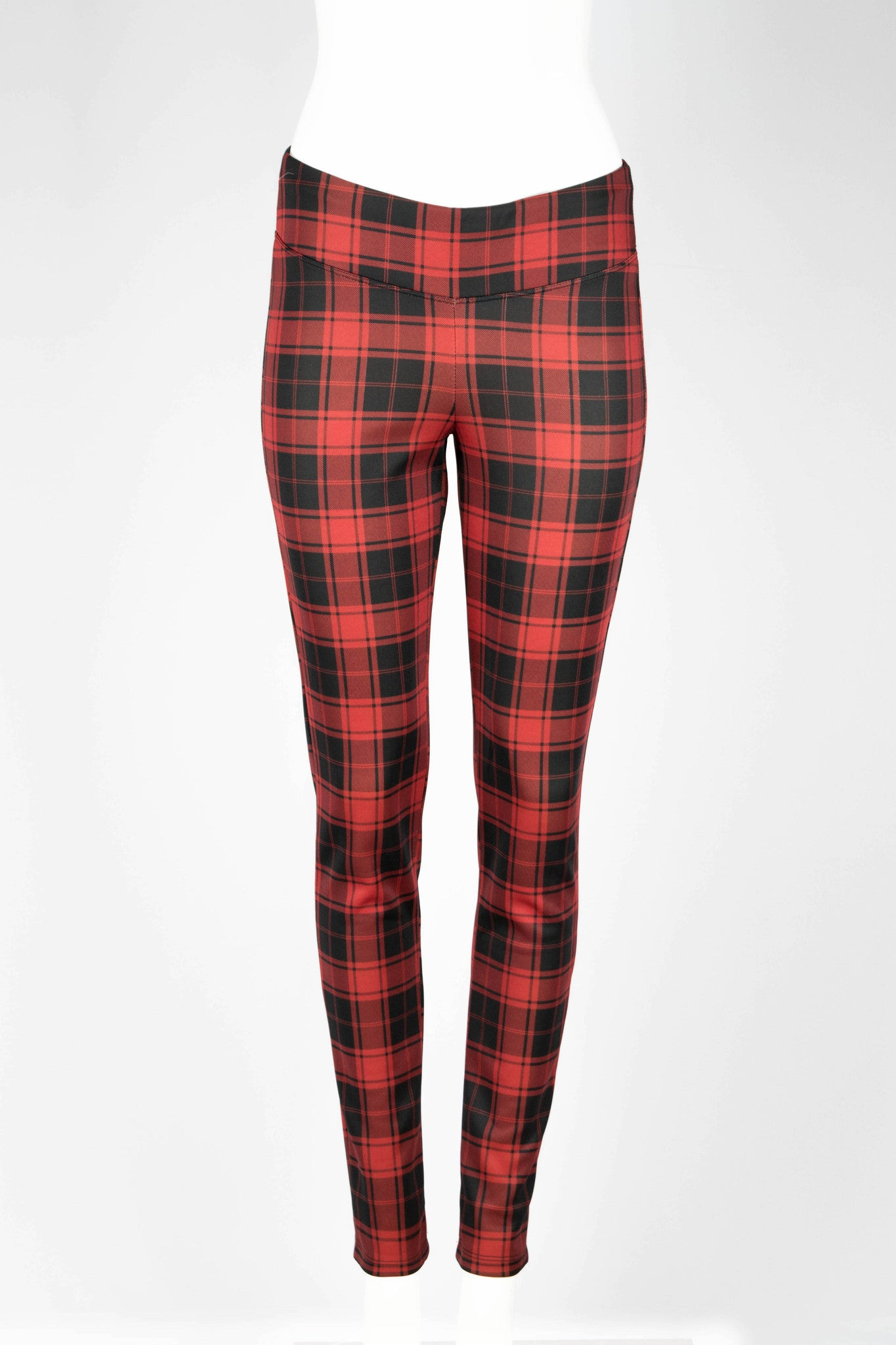 Aubrey Plaid Fitted Pants - ANA MARIA KIM  - 2