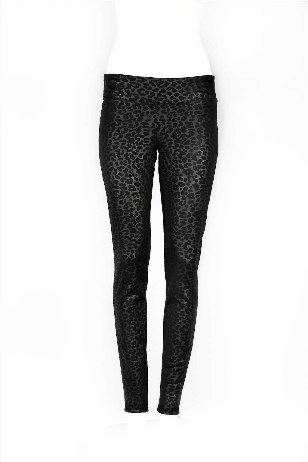 Electra Leopard Fitted Scuba Pants - ANA MARIA KIM  - 7