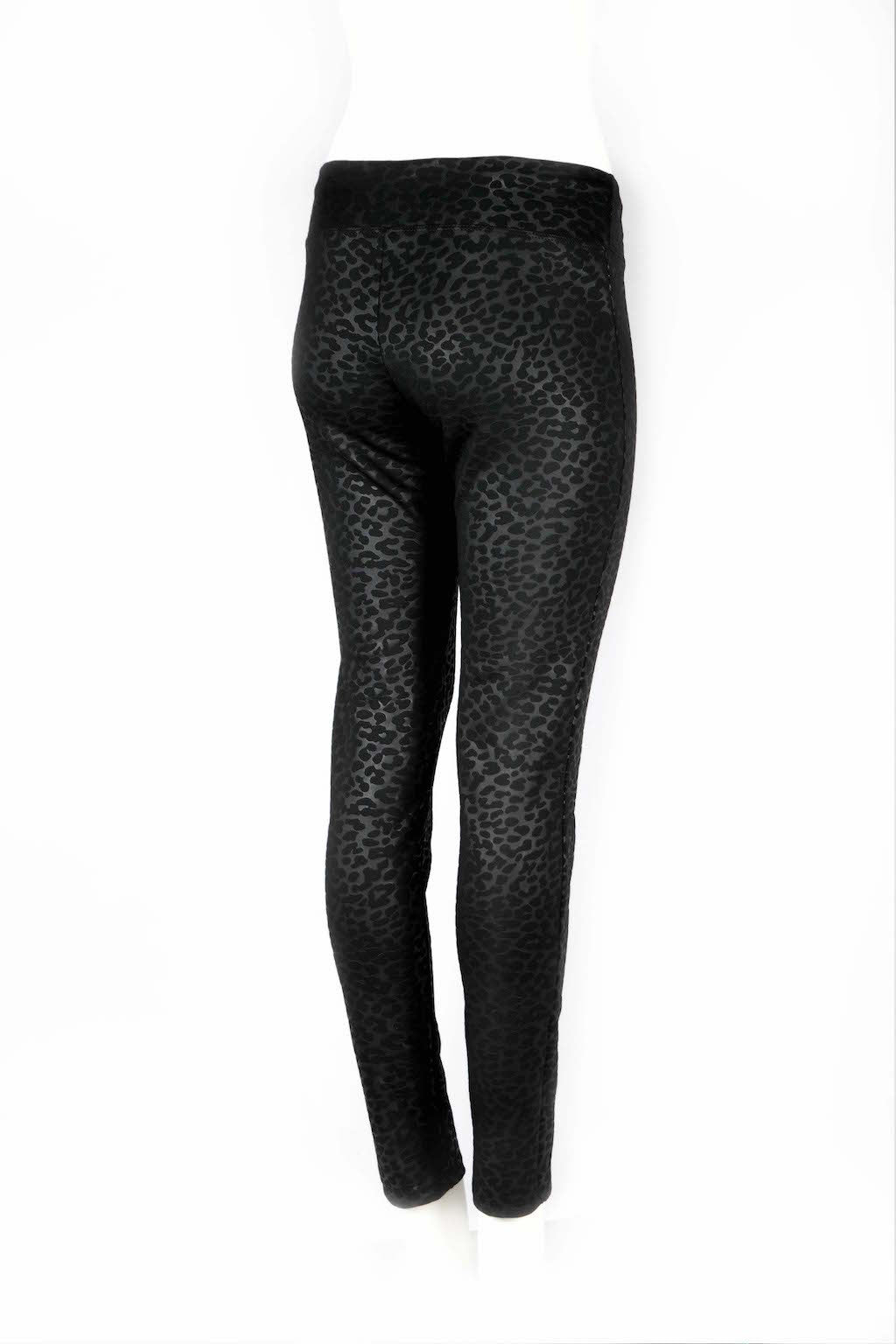 Electra Leopard Fitted Scuba Pants - ANA MARIA KIM  - 9