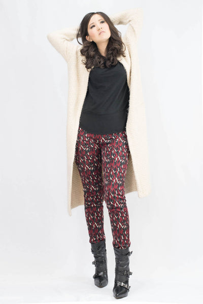 Erin Diamond Abstract Scuba Pants - ANA MARIA KIM  - 2
