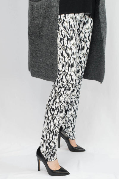 Erin Diamond Abstract Scuba Pants - ANA MARIA KIM  - 3