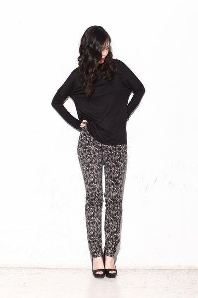 Erin Diamond Abstract Pants