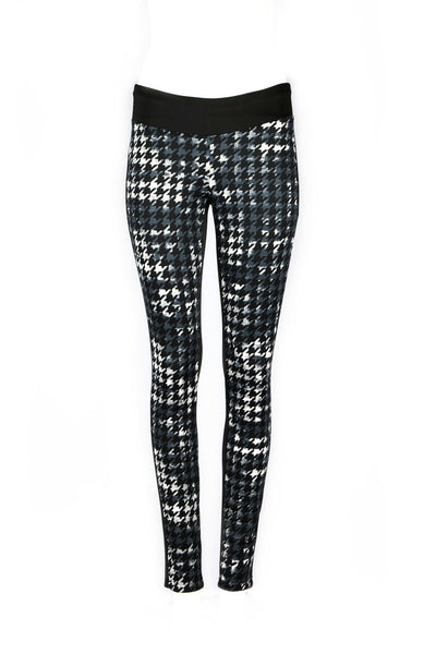 Kylie Houndstooth Color Block Pants - ANA MARIA KIM  - 9