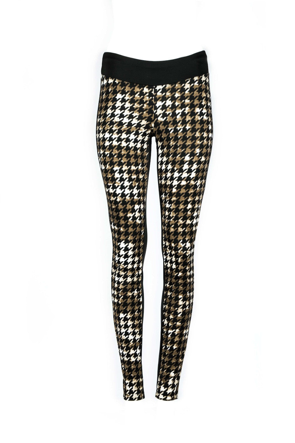 Kylie Houndstooth Color Block Pants - ANA MARIA KIM  - 5