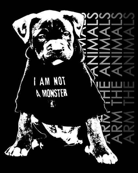 Women's | I Am Not A Monster Pittie | Fashion Crew