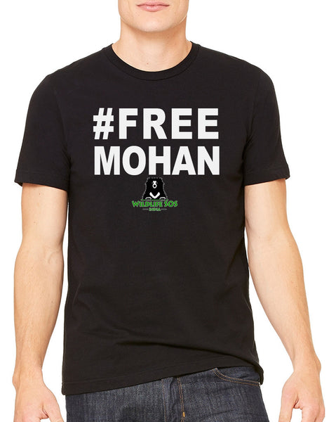 Men's | Free Mohan Text | Crew