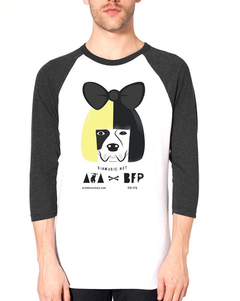 Men's | Dog Set Free (SIA) | 3/4 Sleeve Raglan