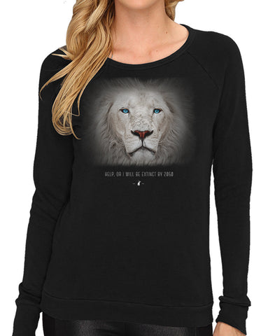 Women's | Fading Lion | Lightweight Sweatshirt