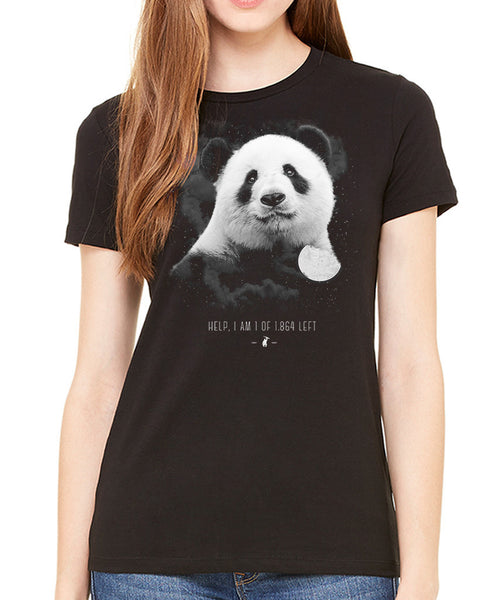 Women's | In To The Night Panda | Fashion Crew