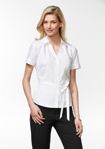 Biz Collection Ladies Berlin Y-Line Shirt (S261LS), , Ladies Shirts, Biz Collection,   - 1