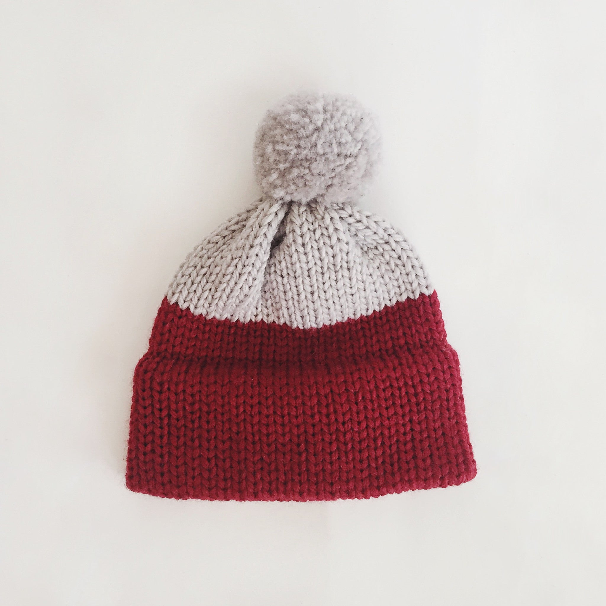 Heirloom Wool Hat - Maroon